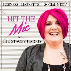 Hit the Mic with The Stacey Harris Cover Image