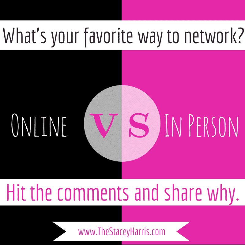 What's your favorite way to network