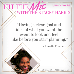 Planning Your Next Event with Renatta Emerson