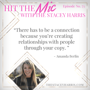 Getting Honest With Your Copy with Amanda Berlin https://thestaceyharris.com/episode73