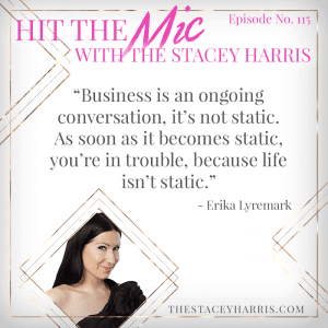 Erika Lyremark on #HittheMic