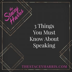 3 Things You Must Know About Speaking