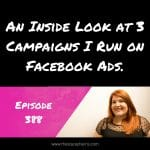 How I'm Using Facebook Ads Now
